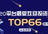 重磅!2020微链平台最受欢迎投资机构TOP66榜单揭晓