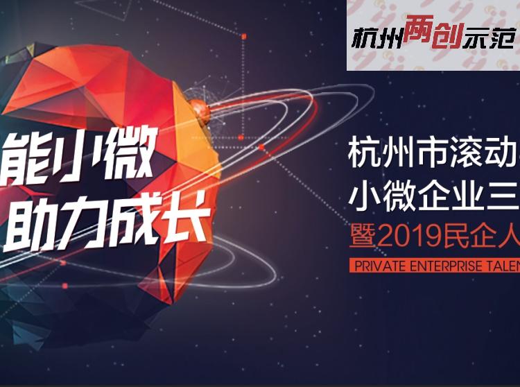 杭州市滾動實施小微企業三年成長計劃暨2019民企人才金融對接會