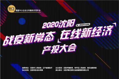 """2020沈阳""""战疫新常态 在线新经济""""产投大会即将举办"""