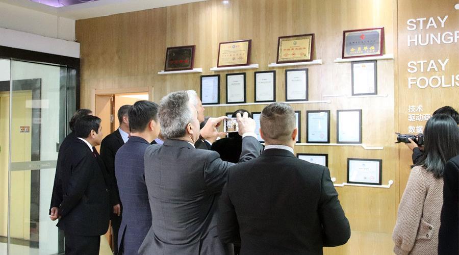 合作共赢,秘鲁总理携参访团莅临云蚁科技洽谈合作!