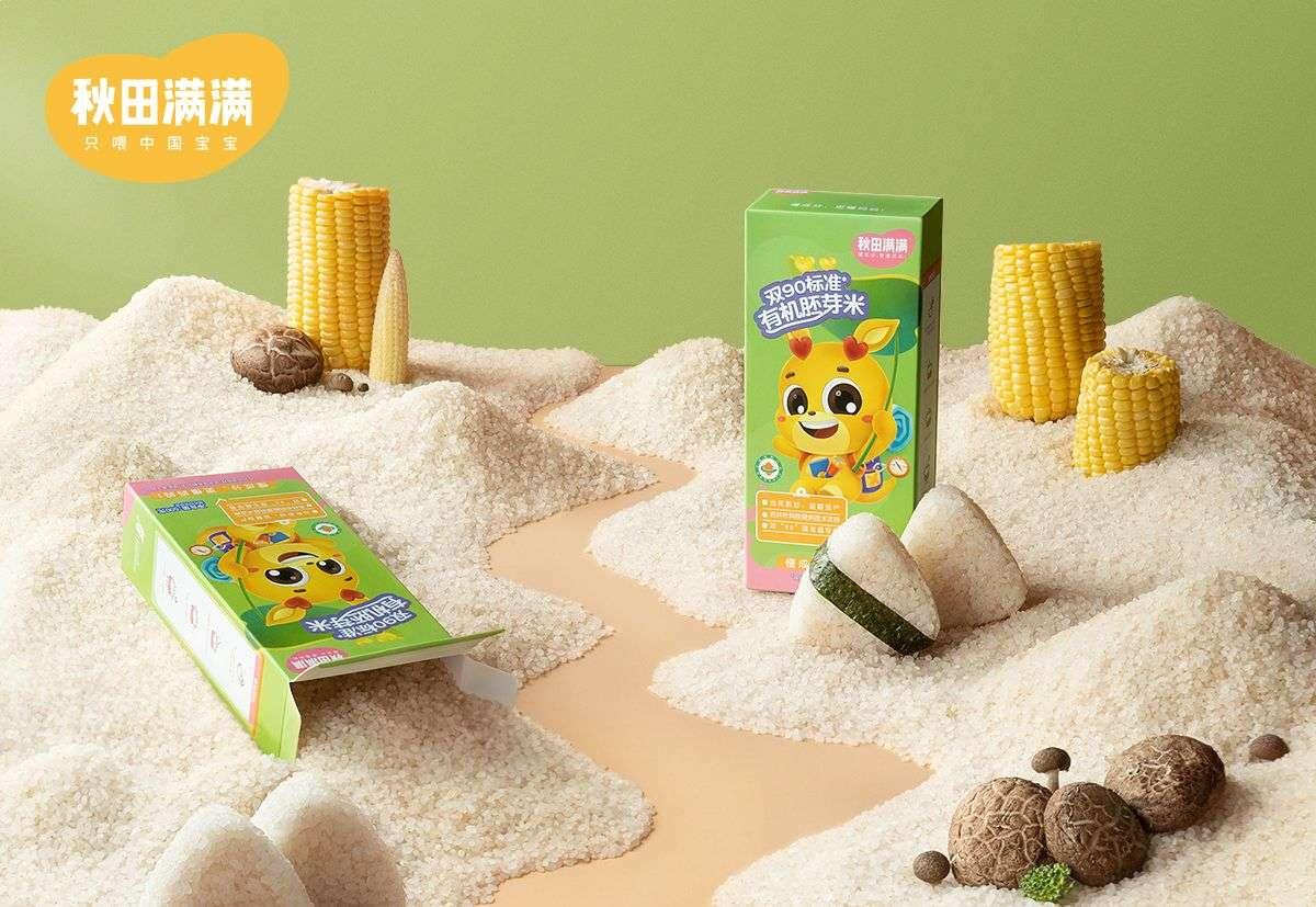 婴童食品品牌「秋田满满」完成千万美元级A轮融资