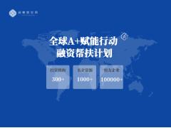 2020年全球A+赋能行动  投融资路演 【优秀项目线上征集】